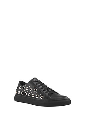 Versus Versace Women Studded Leather Low-Top Sneakers
