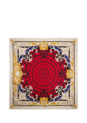 Versace Women Ornamental Collection Shawl