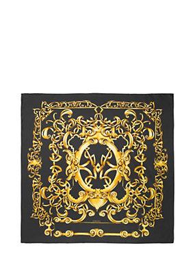 Versace Women Heritage Barocco print silk foulard