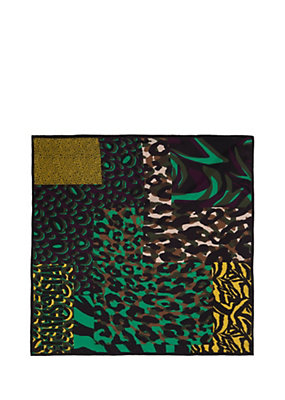 Versace Women Patch Animalier Foulard
