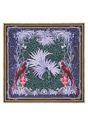 Versace Donna Foulard in seta con stampa Birds
