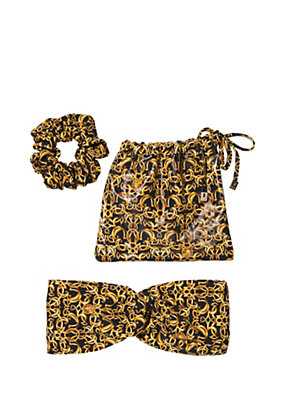 Versace Women Baroque Print Hair Set