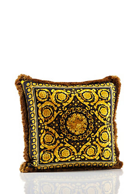 Versace Home Collection Vanity Cushion - Black