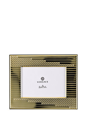 Versace Home Collection Greca Embossed Picture Frame