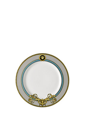 Versace Home Collection Blue Prestige Gala 22 CM Plate