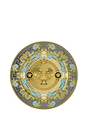 Versace Home Collection Blue Prestige Gala 33 Cm Dish