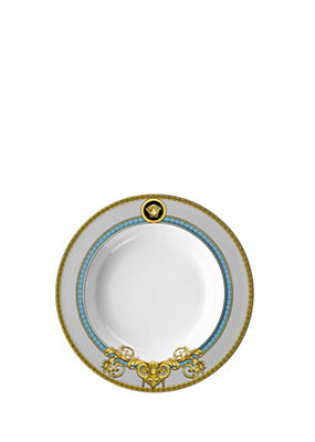 Versace Home Collection Piatto Prestige Gala Bleu 22 cm