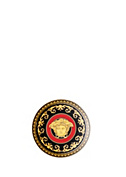 Versace Home Collection Medusa Red Plate 10 cm