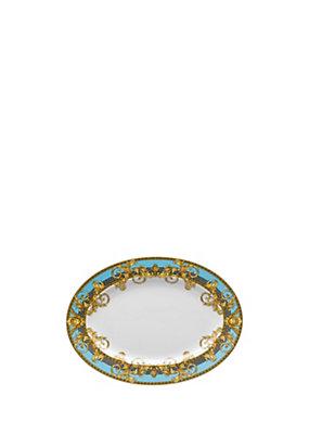 Versace Home Collection Vassoio Prestige Gala Bleu 34 cm