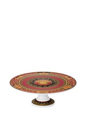 Versace Home Collection Medusa alzata per torte 33cm