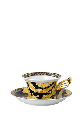 Versace Home Collection Vanity Tea Cup & Saucer