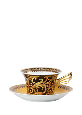 Versace Home Collection Barocco Tea Cup & Saucer
