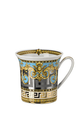 Versace Home Collection Blue Prestige Gala Mug