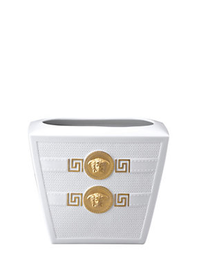 Versace Home Collection Signature White Vase 18 cm