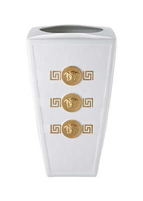 Versace Home Collection Signature White Vase 32 cm
