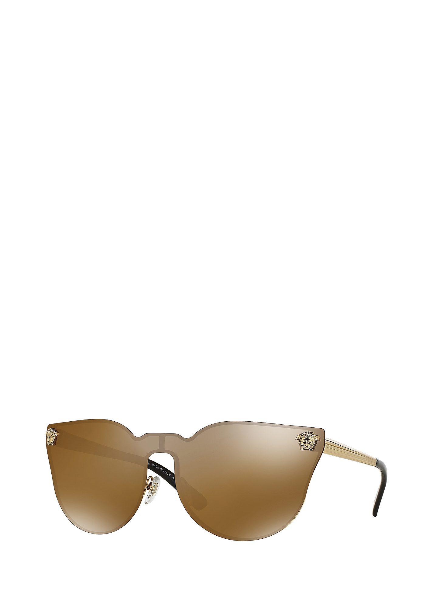 Versace Metal Cat-eye Sunglasses jj Cat-eye Bronze Sunglasses