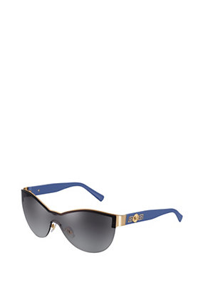 "Versace Women ""Signature"" Visor Sunglasses"