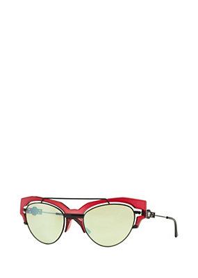 Versace Donna Occhiale di sfilata rosso