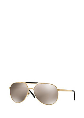 Versace Men Men Versace Gold Pilot Sunglasses