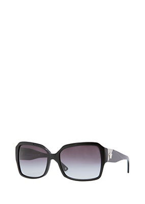 Versace Women Square Black Frame