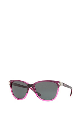 Versace Women Faded Pink Sunglasses
