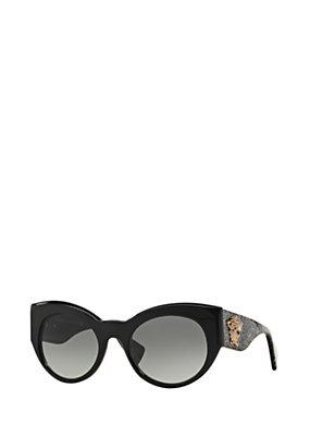 Versace Donna Occhiali Palazzo cat-eye glitter
