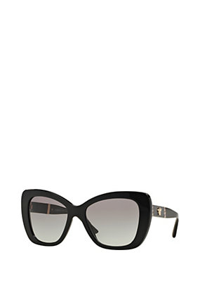 Versace Women Black and gold butterfly sunglasses