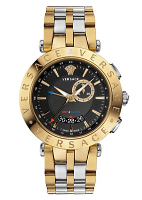 Versace Men Men Watches V-Race GMT Alarm
