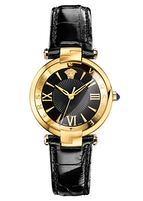 Versace Women Watches Rêvive Black Dial Watch