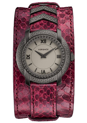 Versace Women Watches DV25 Grey Matte Watch