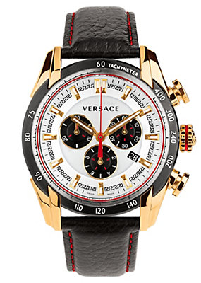 Versace Men Watches V-Ray Ronda Dial Watch