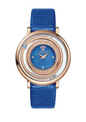 Versace Women Watches Venus Blue