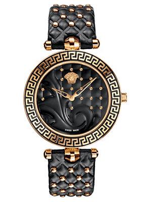 Versace Women Watches Vanitas Black