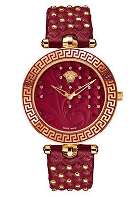 Versace Women Watches Vanitas Watch Red