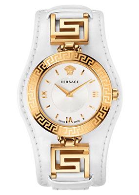 Versace Women Watches V-Signature White