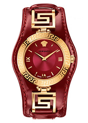 Versace Women Watches V-Signature Red