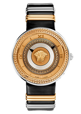 Versace Women Watches V- Metal Icon Dual-colour