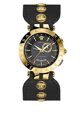 Versace Women Watches V-Race Gmt Black Special Edition