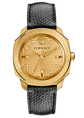 Versace Women Watches Dylos Lady black and gold
