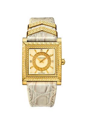 Versace Women Watches DV 25 Ivory