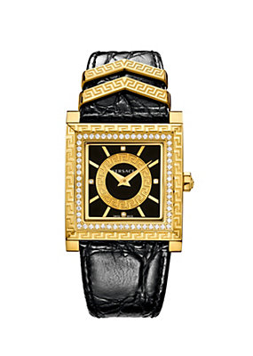 Versace Women Watches DV 25 Limited Edition Black