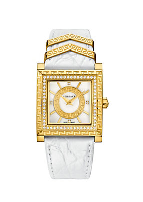 Versace Women Watches DV 25 Limited Edition White