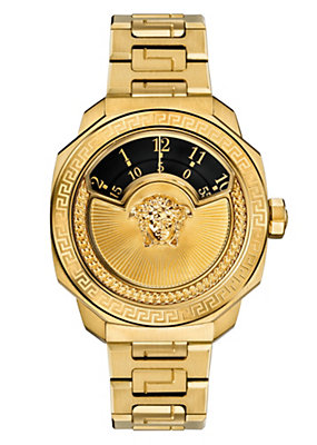 Versace Women Watches Dylos Automatic Ltd Ed Black Insert