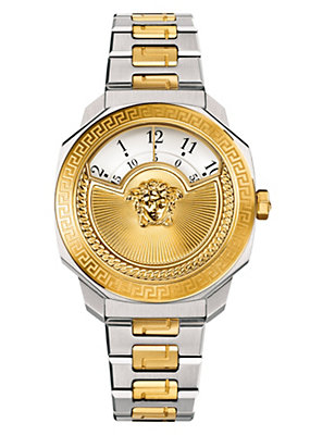 Versace Women Watches Dylos Icon Two-Tone Bracelet Watch