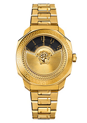 Versace Women Watches Dylos Icon Two-Tone Gold Watch