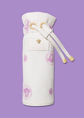 Young Versace Newborn Bottle cover with Medusa print