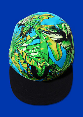 Young Versace Boys Tropical Design Cap