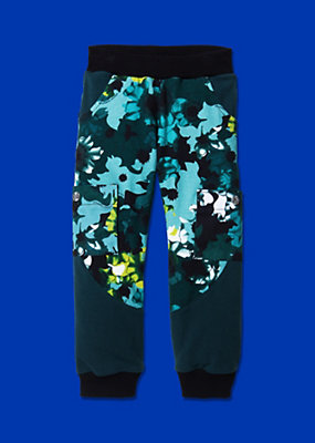 Young Versace Boys Stylish Fabric Print Trousers