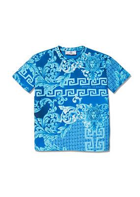 Young Versace Bambino T-shirt con stampa