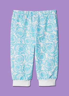 Young Versace Newborn Luxurious Fabric Trousers